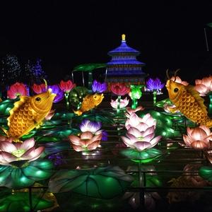Festival des lanternes géantes de chine au Zoo de Thoiry