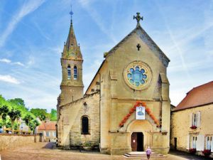 Bourbonne les Bains eglise Notre Dame