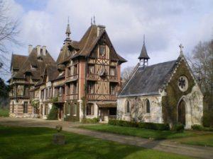 Manoir de Villers et sa chapelle Saint Pierre de Manneville 300