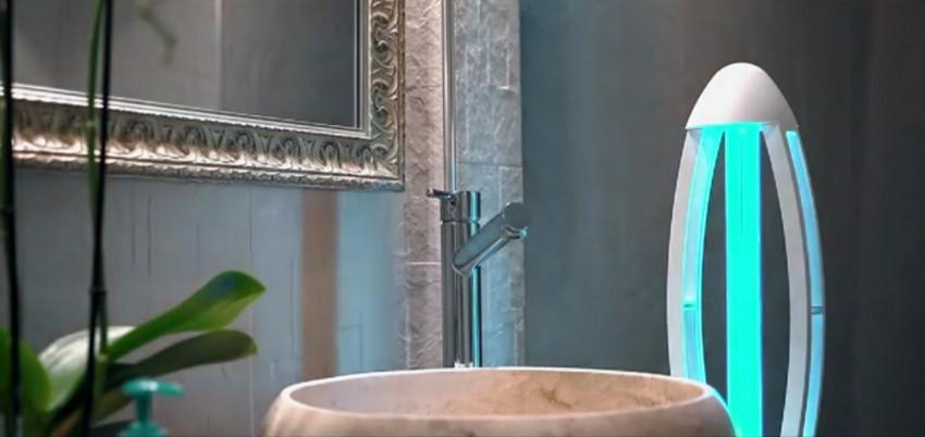 Lampe UVC 1 salle de bain 850 520