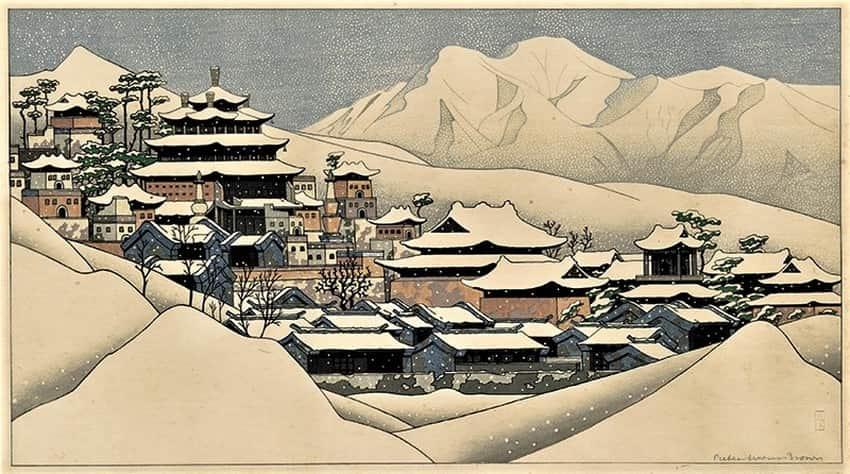 LExtreme-Orient-vu-de-lOccident-Brown-Pieter-Jehol-Manchuria-in-winter