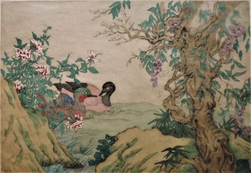 LExtreme-Orient-vu-de-lOccident-Lord-Elyse-Mandarin-ducks-1928