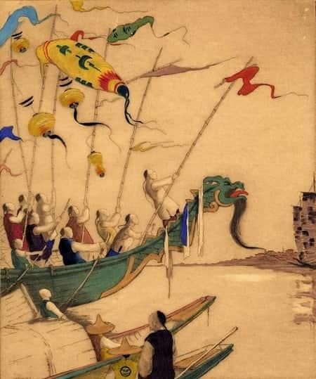 LExtreme-Orient-vu-de-lOccident-Tyson-Dorsey-Dragon-boat-festival-1929